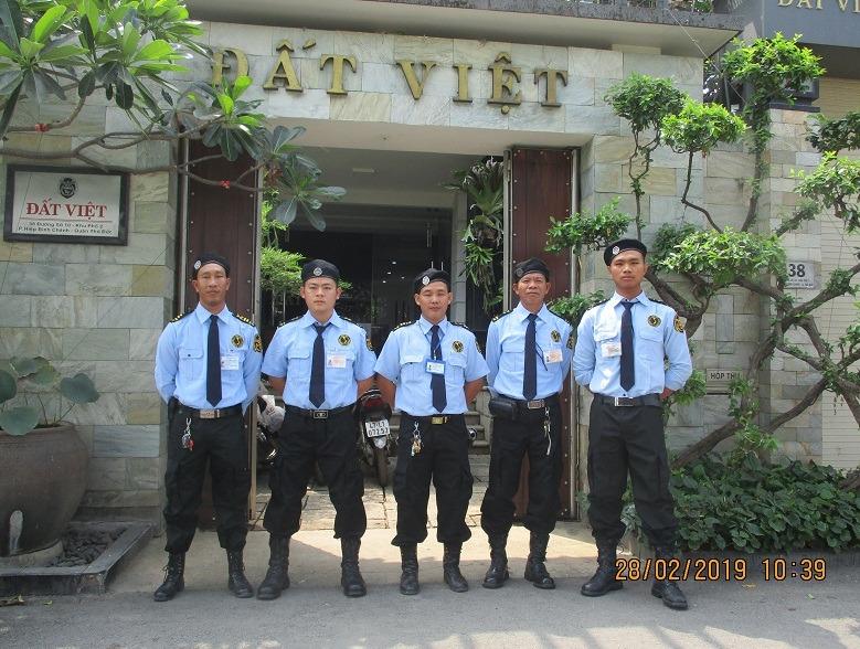 công ty dịch vụ bảo vệ chuyên nghiệp nhất