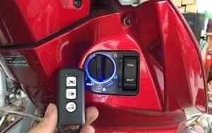 cách chống trộm ở xe máy