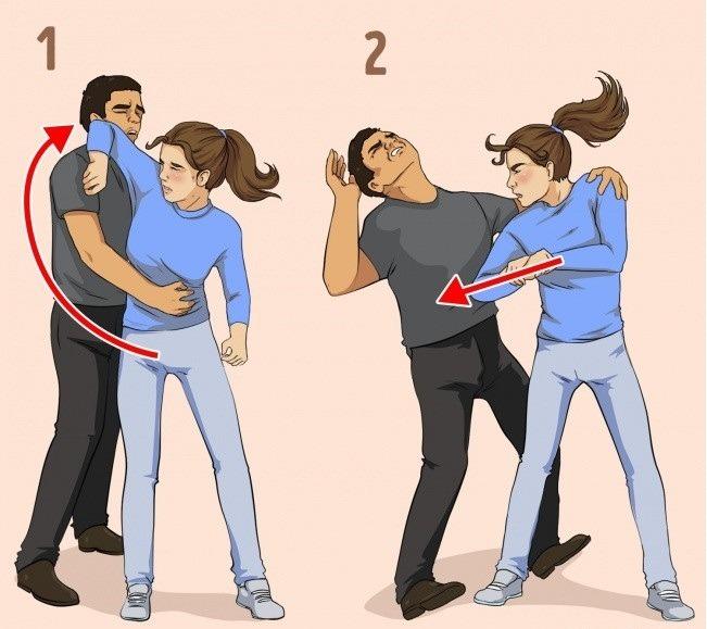 kỹ năng tự vệ khi bị tấn công