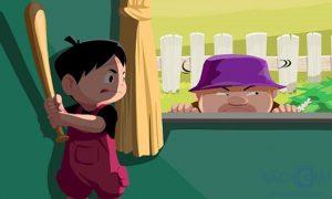 dạy trẻ cách xử lý khi nhà có trộm