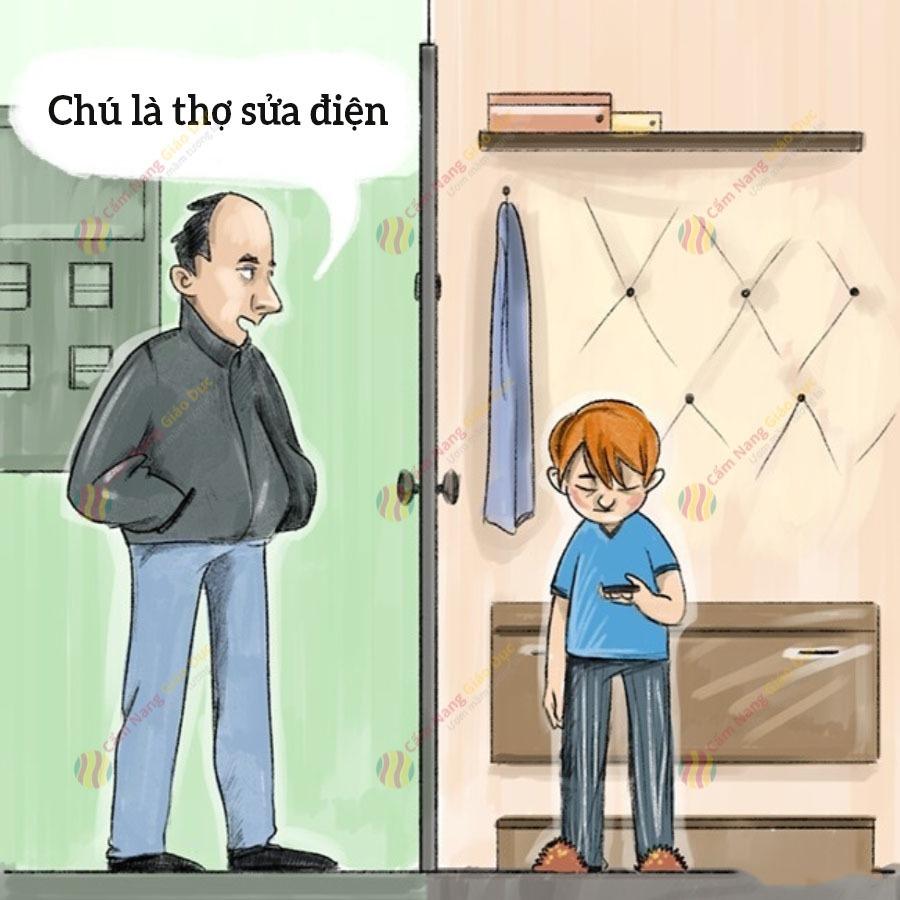 kỹ năng an toàn cho trẻ