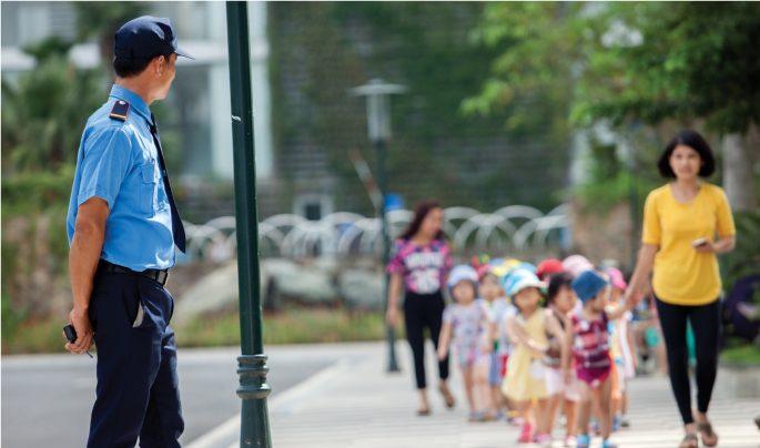 bảo vệ trường học an toàn