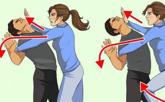 kỹ năng tự vệ cho nữ