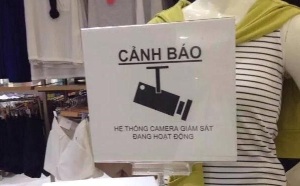 chống trộm cửa hàng