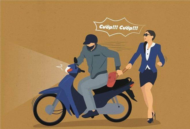 chiêu chống trộm cướp