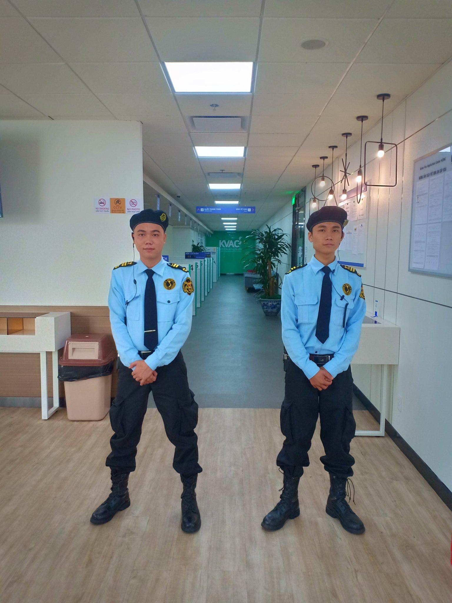 nhân viên bảo vệ tốt