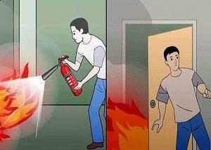 cách thoát thân khi cháy nhà ở