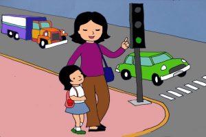 nguyên tắc an toàn giao thong trẻ cần nhớ