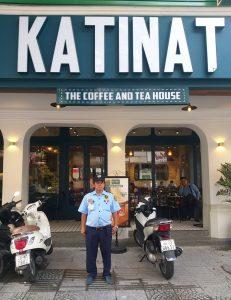 công ty bảo vệ giữ xe quán cafe