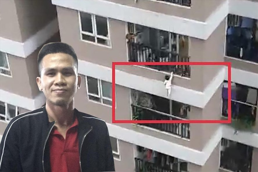 Cứu bé gái thoát chết rơi từ tầng 12 chung cư